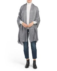 Tj Maxx Gray Shine Planet Print Wrap