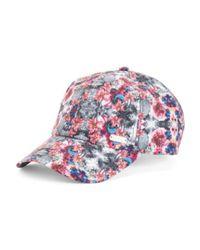Tj Maxx   Pink Floral Adjustable Baseball Hat   Lyst