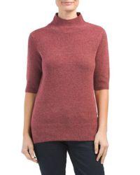 Tj Maxx - Multicolor Wool Blend Mock Neck Sweater - Lyst