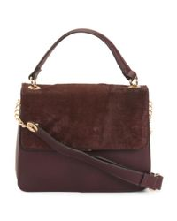 Tj Maxx - Purple Flap Shoulder Bag - Lyst