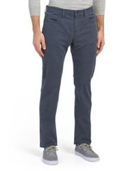 Tj Maxx Blue Kane Straight Fit Pants for men