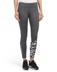 Tj Maxx - Gray Point Sweat High Leggings - Lyst