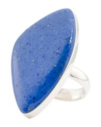 Tj Maxx - Blue Made In Mexico Sterling Silver Abstract Stone Ring - Lyst
