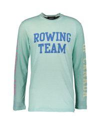TK Maxx brand Blue Rowing Team Top for men