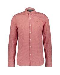 TK Maxx brand Microcheckered Seersucker Shirt for men