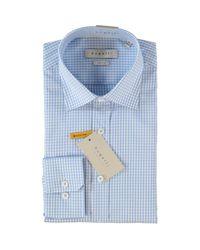 TK Maxx brand Blue & White Check Shirt for men