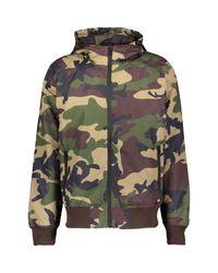 TK Maxx brand Green Camouflage Bomber Jacket for men