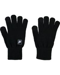 TK Maxx brand Black Logo Gloves for men