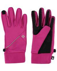 TK Maxx brand Pink Trail Summit Running Gloves