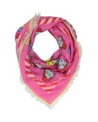 TK Maxx brand Pink Geisha Pop Art Scarf