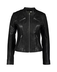 TK Maxx brand Black Sheepskin Leather Jacket