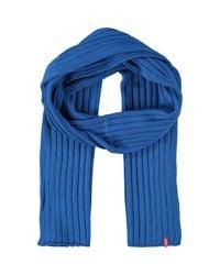 TK Maxx brand Blue Royal Knitted Scarf