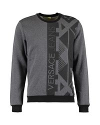 TK Maxx brand Metallic Grey Marl Branded Sweatshirt for men