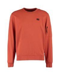 TK Maxx brand Metallic Orange Sleeve Pocket Logo Sweatshirt for men