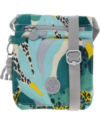 TK Maxx brand Blue & Yellow Jungle Print Cross Body Bag