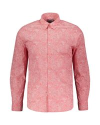 TK Maxx brand Pink Paisely Shirt for men