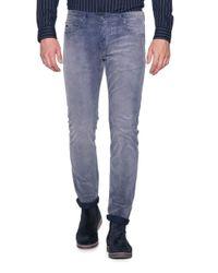 Scotch & Soda Washed 5-pocket in het Blue voor heren