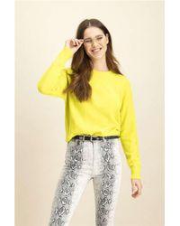 Catwalk Junkie Gebreide Trui Kn Bright - in het Yellow
