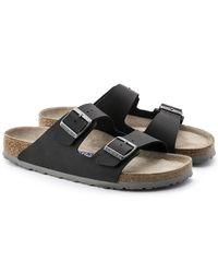 Birkenstock Slippers 033313 in het Black voor heren