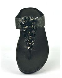 Fitflop Slippers in het Black