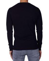 Antony Morato Sweat Round Collar Gebreide Truien in het Black voor heren