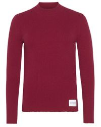 Calvin Klein Pullover J20j211522 in het Red