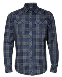 G-Star RAW Overhemd D15459-b842-b070 in het Blue voor heren