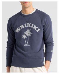 Todd Snyder - Blue Waikiki Graphic Sweatshirt for Men - Lyst