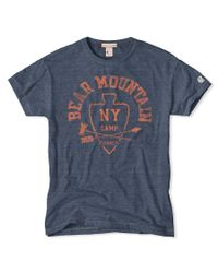 Todd Snyder - Blue Bear Mountain T-shirt for Men - Lyst