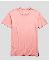 Todd Snyder Pink Made In L.a. Jersey T-shirt for men