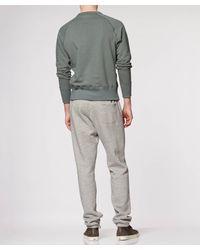 Todd Snyder Gray Fatigue Pocket Sweatshirt for men