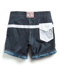 Todd Snyder - Blue Exclusive Birdwell 311 Board Shorts In Navy Surf Stripe for Men - Lyst