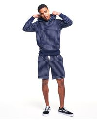 Todd Snyder - Blue Yarn Dyed Stripe Popover Hoodie In Navy for Men - Lyst