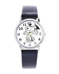 Timex Gray Timex X Peanuts Snoopy On The Move Watch 34mm for men
