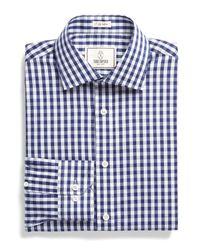 Todd Snyder - Blue Dress Shirt In Navy Bold Gingham for Men - Lyst