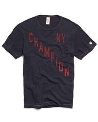 Todd Snyder - Blue Champion Ny Graphic In Navy for Men - Lyst