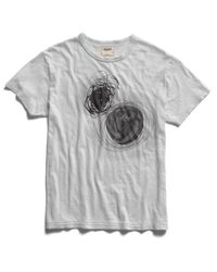 Todd Snyder White Nucleus T-Shirt for men