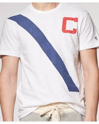 Todd Snyder White Rowing Crew T-shirt for men