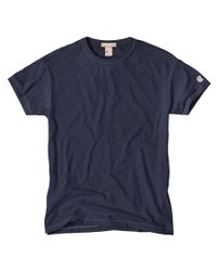 Todd Snyder Champion Classic T-shirt In Mast Blue for men