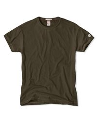 Todd Snyder Green Champion Classic T-shirt In Olive for men
