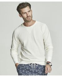 Todd Snyder Terry Sweatshirt In White for men