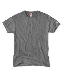 Todd Snyder Gray Champion Classic T-shirt In Salt And Pepper for men