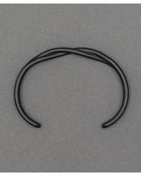 Maxx + Unicorn - Twisted Cuff In Black Oxide for Men - Lyst