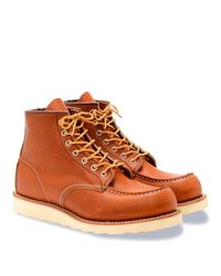 Red Wing - Brown Classic Moc 6-inch Boots for Men - Lyst