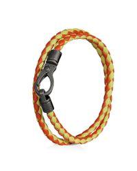 Tod's - Orange Mycolors Bracelet In Leather for Men - Lyst