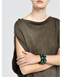 Tomas Maier - Multicolor Wide Spark Brass Stud Bracelet - Lyst