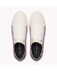 Tommy Hilfiger Multicolor Signature Woven Trainers