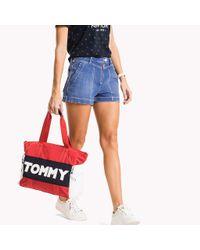 Tommy Hilfiger Blue Regular Fit Denim Shorts