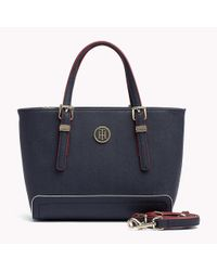 Tommy Hilfiger Blue Small Tote