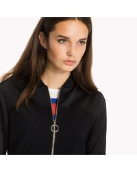 Tommy Hilfiger Black Regular Fit Jacket
